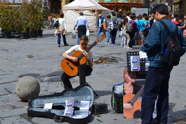 musician in Florence