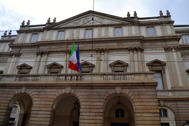 La Scala Opera House Milan, Italy