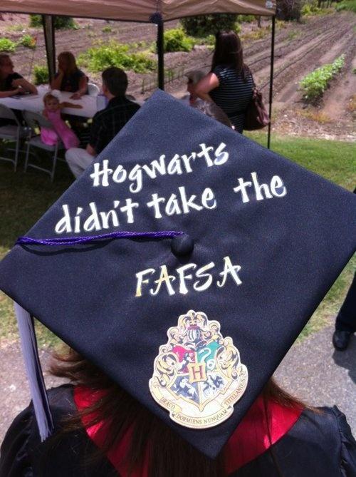 30 Cool High School Graduation Quotes From: 13 Graduation Cap Decorating Ideas